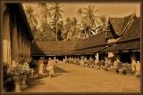 Vat Sakhet. Vientiane.