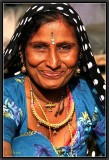 An Indian Smile.