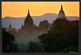 Sunset from Shwenanyintau Pagoda.