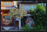 Lijiang houses.