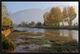 Heihui River in Autumn.