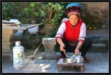 Preparing Tea.