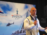 Stephen Barclay, President, America's Cup