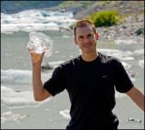 Keith, my son, the ice man