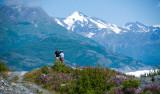 Penny & Keith at Knik glacier