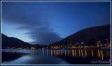Berger Lake lights