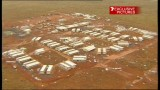 Cyclone George, 8th March 2007 - Captures from Television News