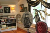 At the Edward Gorey House on Cape Cod