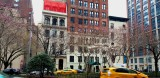 Spring arrives in New York City