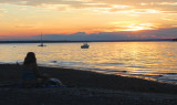 Sunset over Narragansett Bay