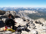Mt Conness Summit (12,590ft; 3837m)