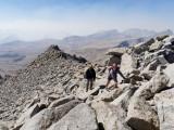 Summit ridge of Mt Tyndall