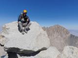 Summit of Mt Tyndall (14,018ft/4273m)