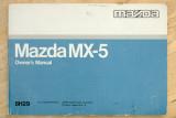 Mazda MX-5 Owner's Manual