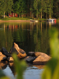 Sauna on the shore of Lake Tarjanne