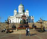 Taking a Selfie, Helsinki Senate Square