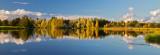 Autumn River Reflection