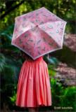 Hula Girl with Umbrella