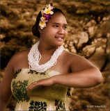 Auana Hula Dancer (Sepia Mix)