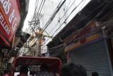 rickshaw ride through Chandni Chowk bazaar
