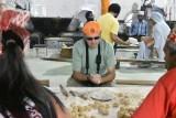 Sikh Temple - Glenn making nan