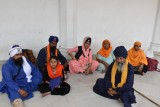 Sikh Temple pilgrims