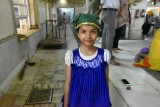 Sikh Temple - young helper