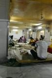Sikh Temple - kitchen preparing lunch