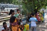 at the Ganga
