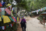 on the road in Bhutan