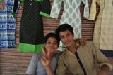 Jaipur market - my tunic salesmen