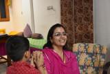 Nivedita Shekhawat & our home hosted dinner