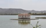 Jai Mahal Lake & floating pavilion