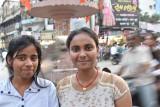 rickshaw ride to the Ganges