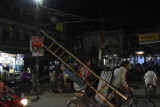 rickshaw ride back from river