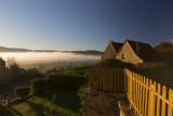 Sunrise by the river Dordogne