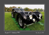 BUGATTI 57 S Atalante 1937 Chantilly - France
