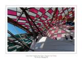 Fondation Louis Vuitton colorized by Daniel Buren 3