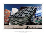 Fondation Louis Vuitton colorized by Daniel Buren 4