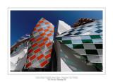 Fondation Louis Vuitton colorized by Daniel Buren 5
