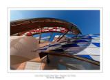 Fondation Louis Vuitton colorized by Daniel Buren 6