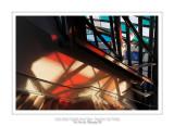 Fondation Louis Vuitton colorized by Daniel Buren 8