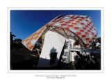 Fondation Louis Vuitton colorized by Daniel Buren 9