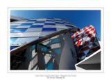 Fondation Louis Vuitton colorized by Daniel Buren 13