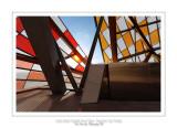 Fondation Louis Vuitton colorized by Daniel Buren 16