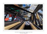 Fondation Louis Vuitton colorized by Daniel Buren 20