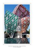 Fondation Louis Vuitton colorized by Daniel Buren 24