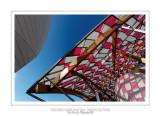 Fondation Louis Vuitton colorized by Daniel Buren 25