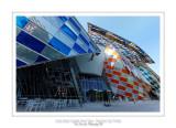 Fondation Louis Vuitton colorized by Daniel Buren 27