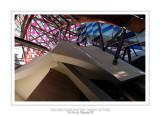 Fondation Louis Vuitton colorized by Daniel Buren 29